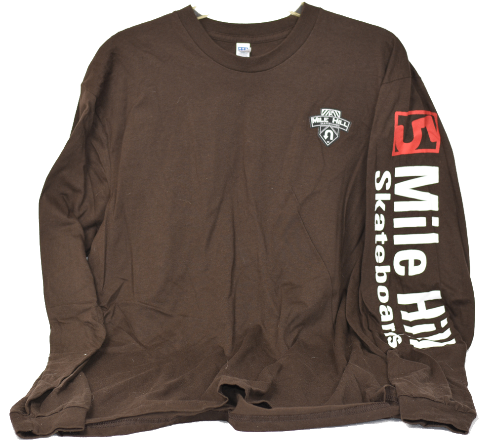 T-Shirt (Brown Long Sleeve) - 5 Mile Hill ac952194ae3